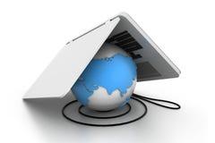 Mondiaal Internet net Royalty-vrije Stock Afbeeldingen
