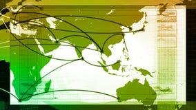 Mondiaal Net, Reis, Mededelingen royalty-vrije illustratie