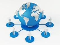 Mondiaal Net Royalty-vrije Stock Afbeelding