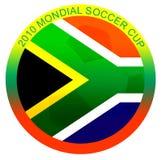 mondial Cupabbildung des Fußballs 2010 Lizenzfreie Stockfotografie
