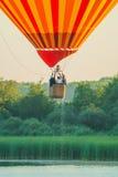Mondial HeißluftBallonwiedervereinigung in Lothringen Frankreich lizenzfreies stockfoto