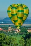 Mondial hot Air Ballon reunion in Lorraine France Stock Photography
