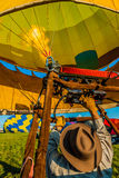 Mondial hot Air Ballon reunion in Lorraine France Stock Image