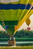 Mondial hot Air Ballon reunion in Lorraine France Royalty Free Stock Image