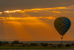 Mondial hot Air Ballon reunion in Lorraine France Royalty Free Stock Photography