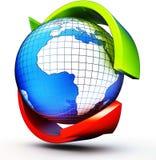Mondialisation Photographie stock