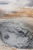 Mondlandschaft in Island Lizenzfreies Stockfoto