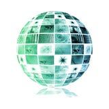 Mondo astratto di tecnologia Immagini Stock