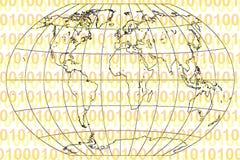 Mondo binario illustrazione vettoriale
