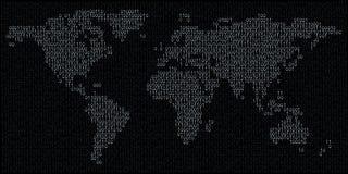 Mondo binario Immagine Stock Libera da Diritti