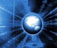 Mondo binario immagine stock