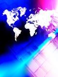 Mondo connesso Fotografia Stock