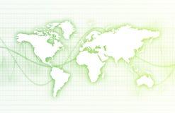 Mondo corporativo di affari di tecnologia Immagine Stock Libera da Diritti