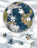 Mondo dal puzzle Immagine Stock