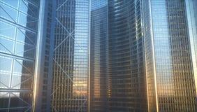 Mondo degli affari di architettura Immagine Stock Libera da Diritti