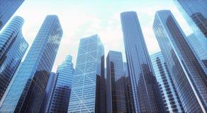 Mondo degli affari di architettura Fotografia Stock