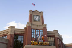 Mondo del cioccolato Fotografia Stock Libera da Diritti