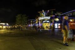 Mondo del deposito di Disney acceso a natale Immagine Stock