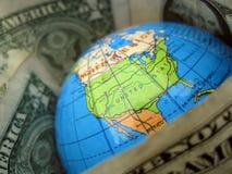 Mondo del dollaro Fotografia Stock