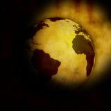 Mondo del globo Fotografie Stock Libere da Diritti