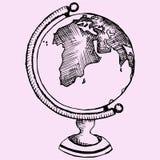 Mondo del globo Immagini Stock Libere da Diritti