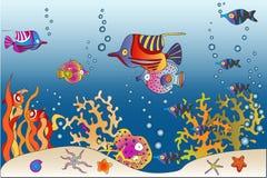 Mondo del mare Immagini Stock