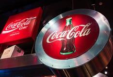 Mondo del museo della coca-cola a Atlanta Georgia U.S.A. Immagini Stock Libere da Diritti