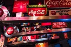 Mondo del museo della coca-cola a Atlanta Georgia U.S.A. Fotografie Stock Libere da Diritti