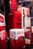 Mondo del museo della coca-cola a Atlanta Georgia U.S.A. Immagini Stock