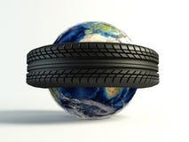 Mondo del pneumatico Fotografia Stock