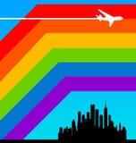 Mondo del Rainbow illustrazione di stock