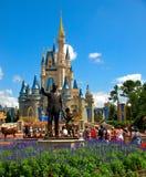 Mondo del Walt Disney del castello del Disney Fotografie Stock Libere da Diritti