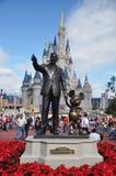 Mondo del Walt Disney del castello del Disney Cinderella Fotografia Stock