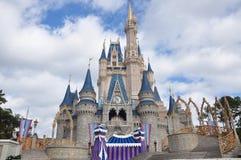 Mondo del Walt Disney del castello del Disney Cinderella Immagini Stock Libere da Diritti