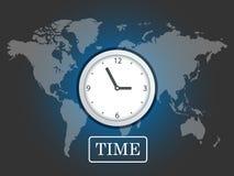 Mondo dell'orologio fotografia stock