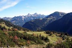 Autunno nelle montagne Fotografie Stock Libere da Diritti