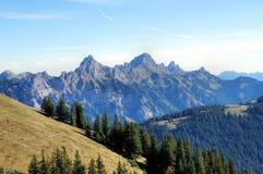 Montagne tirolesi Fotografia Stock