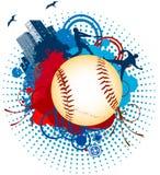 Mondo della palla di baseball Immagini Stock Libere da Diritti