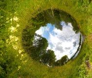 Mondo della sfera Fotografia Stock
