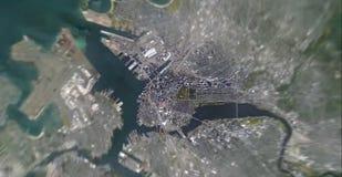 Mondo dello zoom immagine stock
