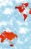 Mondo di alta tecnologia Fotografia Stock