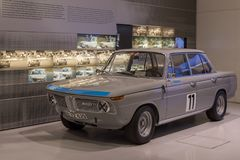 Mondo di BMW 2000ti, di BMW & museo Fotografie Stock