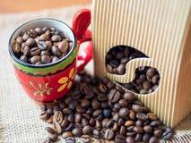 Mondo di caffè Immagine Stock