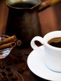 Mondo di caffè Fotografia Stock