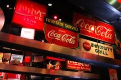 Mondo di coca-cola Fotografia Stock Libera da Diritti