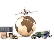 Mondo di consegna illustrazione di stock