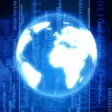 Mondo di Digital illustrazione di stock