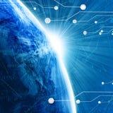 Mondo di Digital Immagine Stock