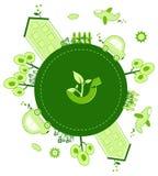 Mondo di Eco Immagine Stock Libera da Diritti