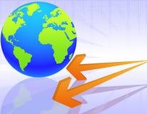 Mondo di economia Immagini Stock Libere da Diritti